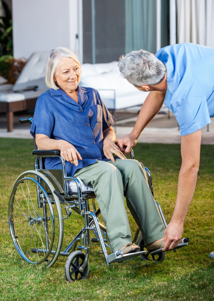 Caregiver Assistance | Activities Associated with Daily Living | Bathing | Dressing | Toileting | Ambulation | Meal Consumption